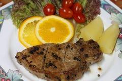 Steak Royaltyfria Bilder