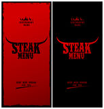 Steak menu. Royalty Free Stock Photography