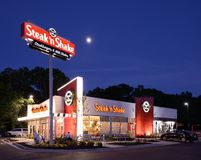 Steak 'n Shake Stock Images