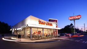 Steak 'n Shake Royalty Free Stock Photography