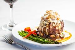 Steak Oscar Stock Photos