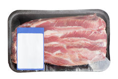 Steak in pack Stock Photo