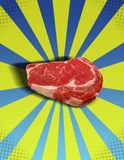 Steak POP! Royalty Free Stock Images