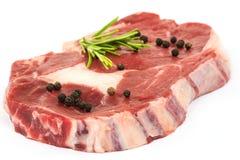 Steak raw stock images