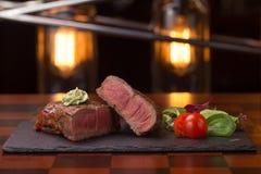 Steak rib-eye Stock Photo