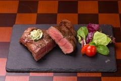 Steak rib-eye Stock Images
