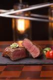 Steak rib-eye Stock Image
