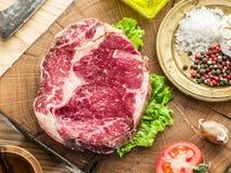 Steak Ribeye. Stock Images