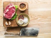 Steak Ribeye. Royalty Free Stock Photos