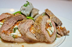 Steak Roulade Stock Photography
