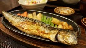 Steak Saba Teriyaki Stock Images
