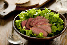 Steak Salad Stock Photos