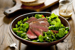 Steak Salad Stock Photo