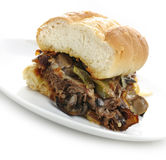 Steak Sandwich Stock Image