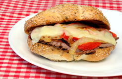 Steak Sandwich Royalty Free Stock Photos