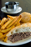 steak sandwich Stock Images