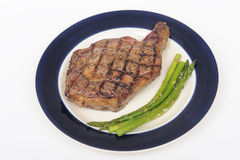 A steak set Royalty Free Stock Image