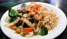 Steak & shrimp Royalty Free Stock Image