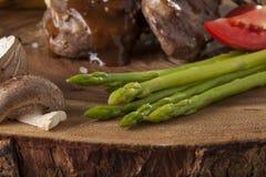 Steak sides Stock Photo