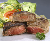 Steak or sirloin Royalty Free Stock Photos