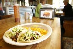 Steak tacos Stock Photography