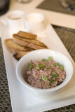 Steak Tartar Stock Photo