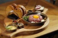 Steak tartar Stock Images