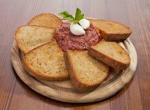 Steak tartar Royalty Free Stock Image