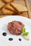 Steak tartar Royalty Free Stock Photography