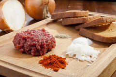 Steak tartar Stock Photos