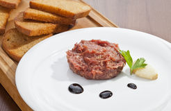 Steak tartar Stock Image