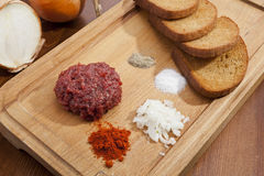 Steak tartar Royalty Free Stock Image