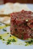 Steak Tartare Stockfotos
