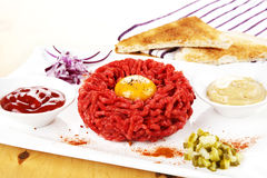 Steak tartare. Stock Images