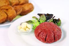 Steak tartare Stock Images