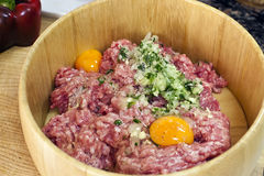 Steak tartare Stock Image