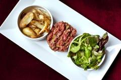 Steak tartare Stock Image