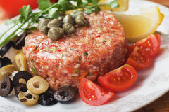 Steak tartare Stock Photography