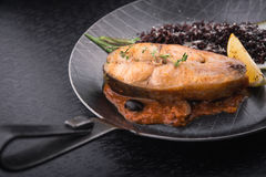 Steak trout Stock Photography