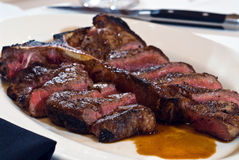 Steak for two Royalty Free Stock Images