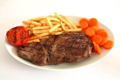 Steak und Fischrogen 2 lizenzfreies stockfoto