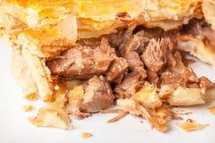 Steak-und Nieren-Torte lizenzfreie stockfotografie