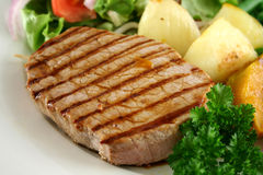Steak And Vegetables 2 Stock Image