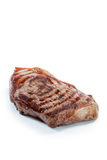 Steak on white Royalty Free Stock Photography