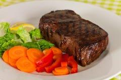 steak york för peppar för grön meat för bönamorot ny Fotografering för Bildbyråer