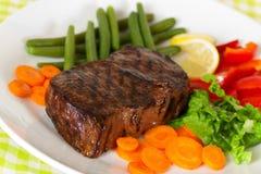 steak york för peppar för grön meat för bönamorot ny Arkivfoton