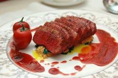 Steakdekoration Lizenzfreie Stockfotografie