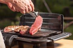Steakdrehung Stockbild