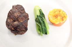 steakfläskkarré Royaltyfri Foto