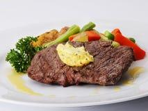 steakfläskkarré Fotografering för Bildbyråer